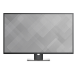 "DELL P4317Q LED display 109.2 cm (43"") 3840 x 2160 pixels 4K Ultra HD LCD Flat Black,Grey,Silver"
