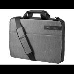 "HP 39.62 cm (15.6"") Signature Slim Topload Case 15.6"" Briefcase Black,Grey"
