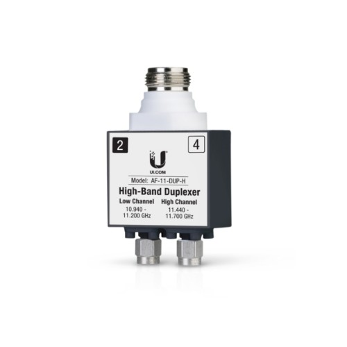 Ubiquiti Networks AF-11-DUP-H fibre optic adapter Black,Silver,White 1 pc(s)