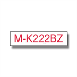 Brother MK-222BZ P-Touch Ribbon, 9mm x 8m