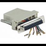 Hypertec 250450-HY cable gender changer RJ-45 DB25 Grey