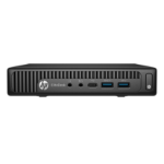 HP EliteDesk 800 G2 6th gen Intel® Core™ i5 i5-6500T 8 GB DDR4-SDRAM 128 GB SSD Mini PC Black Windows 10 Pro
