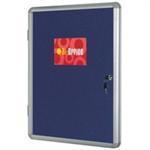 Bi-Office BI OFFICE LOCK INT DISP FELT 120X90CM BL