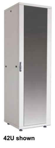"Intellinet 19"" Basic Network Cabinet, 32U, 1588 (h) x 600 (w) x 800 (d) mm, Max 600kg, Flatpack, Grey"
