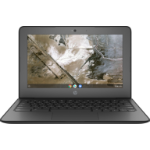"HP Chromebook 11A G6 EE Black 29.5 cm (11.6"") 1366 x 768 pixels 7th Generation AMD A4-Series APUs A4-9120C 4 GB DDR4-SDRAM 32 GB eMMC"