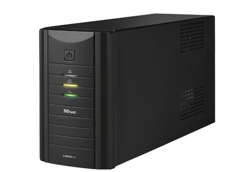 Trust Oxxtron uninterruptible power supply (UPS) 1000 VA 3 AC outlet(s)