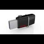 Sandisk ULTRA ANDROID DUAL 64GB BLACK USB flash drive