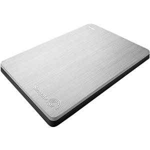 Seagate Backup Plus Slim Portable Drive 1TB, Silver