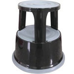 Q-CONNECT METAL STEP STOOL BLACK