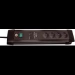 Brennenstuhl Premium-Line Surge Protection 30.000 A Black 4 AC outlet(s) 1.8 m