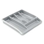 ADDIS Drawer Organiser Plastic SilverPk1