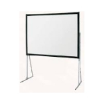 Ultimate Folding Screen Complete + Standard Legs - 230cm x 128cm - 16:9 - Matt White XT1000V - Front Complete - Fast Fold Screen