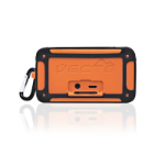 Veho Vecto Stereo portable speaker 6W Black, Orange