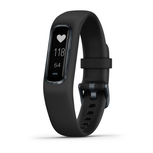 Garmin vívosmart 4 OLED Wristband activity tracker Wired & Wireless Black