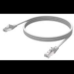 Vision Cat6 UTP, 0.5m networking cable White U/UTP (UTP)