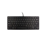 R-Go Tools Compact Keyboard, QWERTY (NORDIC), black, wired