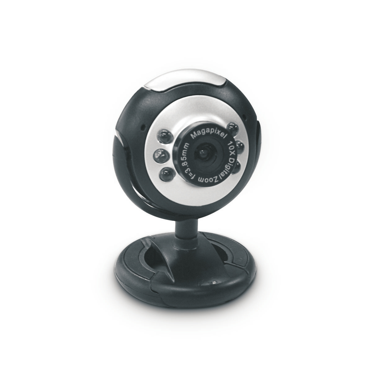 Dynamode M-1100M 2MP 640 x 480pixels USB Black,Silver webcam