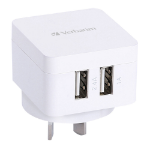 Verbatim 64956 Indoor White mobile device charger