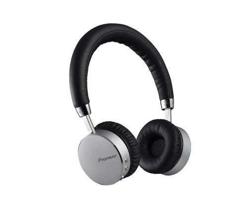 Pioneer SE-MJ561BT-S Silver Circumaural Head-band headphone