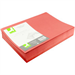 Q-CONNECT Q-CONNECT RED S CUT FOLDER 180GSM PK100