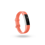 Fitbit Alta HR Pulsera de actividad Coral, Acero inoxidable OLED