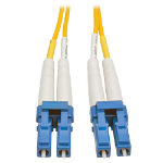 """Tripp Lite LC/LC, 8.3/125, 26 ft fiber optic cable 315"""" (8 m) Yellow"""