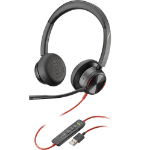 POLY Blackwire 8225 Headphones Head-band Black