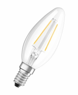 Osram LED Retrofit CLASSIC B LED bulb Warm white 2 W E14 A++