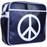 "Urban Factory Peace & Love Laptop Bag 12.5"" Blue"