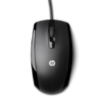 HP óptico USB de 3 botones mouse USB Type-A Optical Ambidextrous