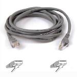 Belkin 50m RJ-45 CAT-5e networking cable Grey 0.5 m