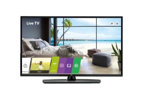 "LG 49UU661H hospitality TV 124.5 cm (49"") 4K Ultra HD 400 cd/m² Black Smart TV 20 W"