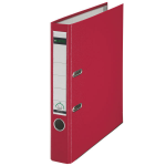 Leitz 180° Plastic Lever Arch File A4 Red