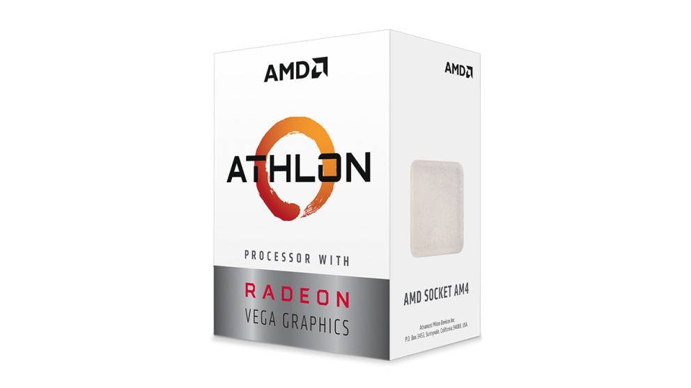 AMD Athlon 3000G processor 3,5 GHz Box 4 MB L3