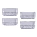 Rexel Crystalfile Crystal Tab Clear (50) hanging folder