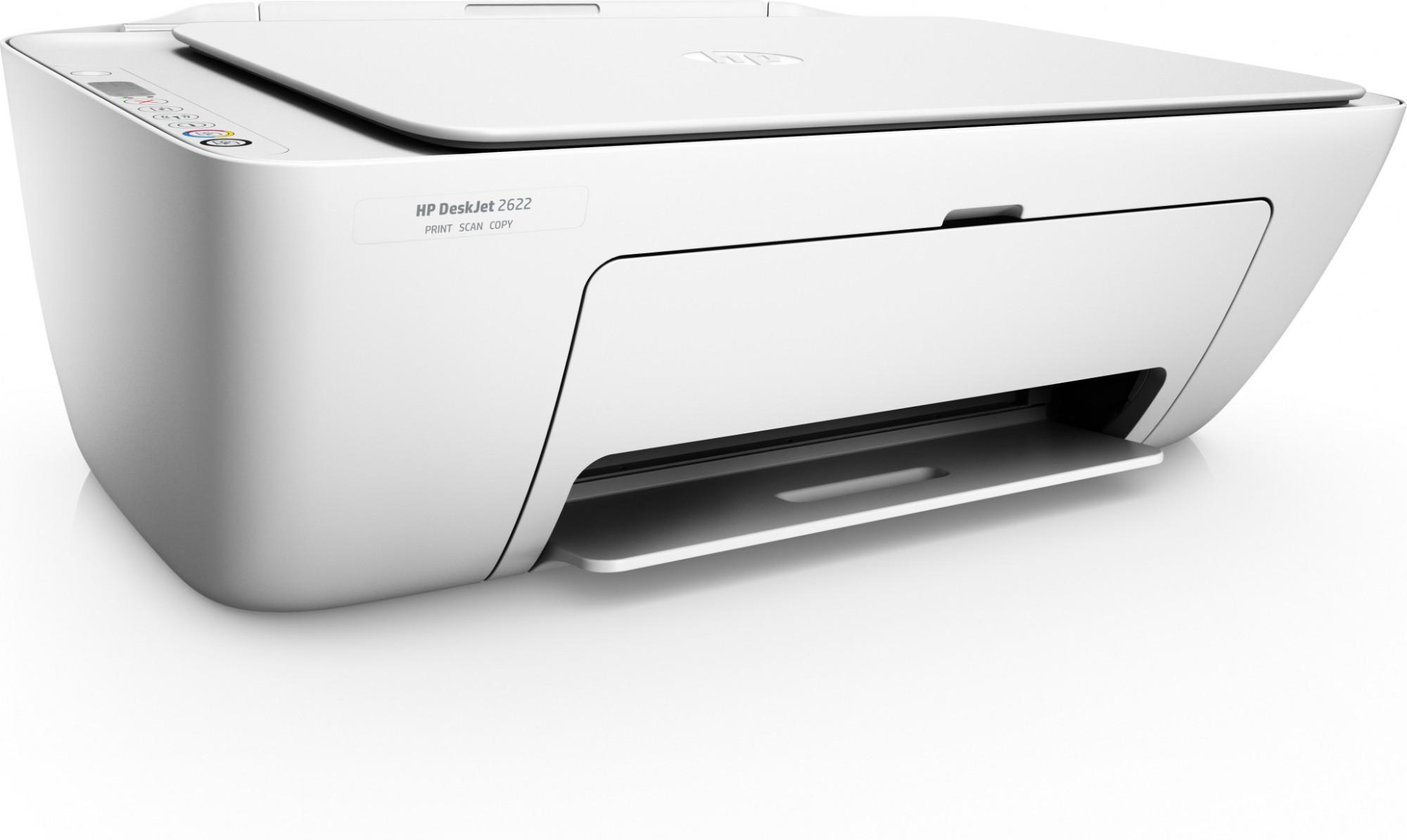 HP DeskJet 2622 Thermal Inkjet 7 5 ppm 4800 x 1200 DPI A4 Wi-Fi