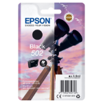 Epson C13T02V14010 (502) Ink cartridge black, 210 pages, 5ml