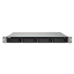 QNAP TS-453BU Ethernet LAN Rack (1U) Aluminium,Black NAS