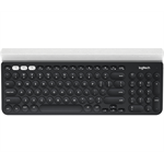 Logitech K780 RF Wireless + Bluetooth QWERTY US International Grey,White keyboard