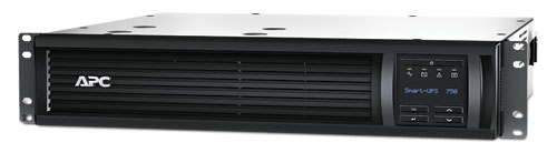 APC Smart-UPS Line-Interactive 750VA 4AC outlet(s) Rackmount Black uninterruptible power supply (UPS)
