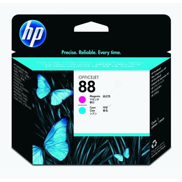 HP No 88 Printhead magenta+cyan - C9382A