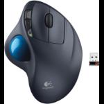 Logitech M570 mouse RF Wireless Laser