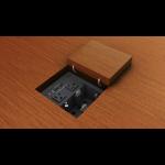 Extron 70-1183-01 cable organizer Cable box Desk Black 1 pcs