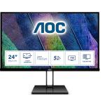 "AOC Value-line 24V2Q computer monitor 60.5 cm (23.8"") 1920 x 1080 pixels Full HD LED Black"