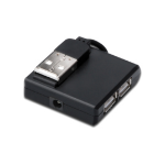Microconnect MC-USB2.0HUB4P USB 2.0 400Mbit/s Black interface hub