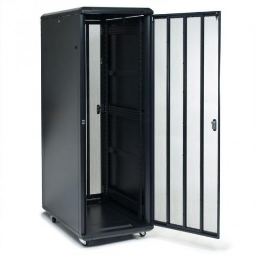 RackSolutions RACK-151-42U rack cabinet Freestanding rack Black
