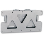 B-Tech LCD Flush wall mount Silver