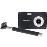 Praktica Luxmedia Z250 Camera Black 20MP 5xZoom + FREE SELFIE STICK
