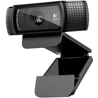Logitech HD Pro C920 1920 x 1080pixels USB 2.0 Black webcam
