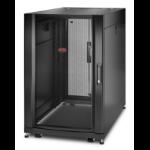 "APC NetShelter SX AR3106 18U 600mm(b) x 1070mm(d) 19"" IT rack met zijpanelen"